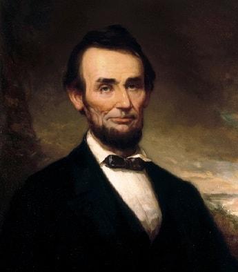 U.S. President Abraham Lincoln