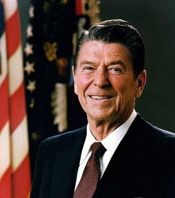 U.S. President Ronald Reagan's Offical Portrait